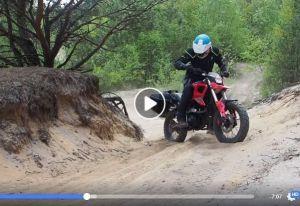 Mały motocykl o wielkich możliwościach!