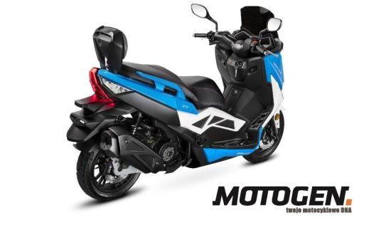 Motogen o nowym B-Maxie 125
