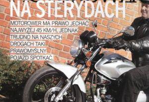 Świat Motocykli: Motorower na sterydach