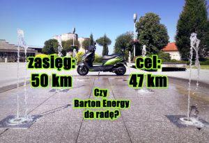 Skuter elektryczny z deklarowanym zasięgiem 50 km