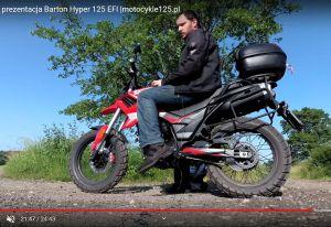 Poznaj ze szczegółami motocykl Barton Hyper