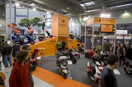 Barton Motors na targach MOTOCYKL EXPO 2009