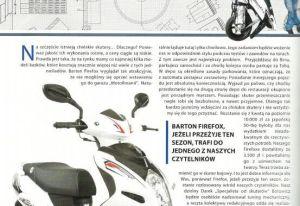 Motormania - Barton Firefox